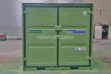 Cardiff CCTV Containers