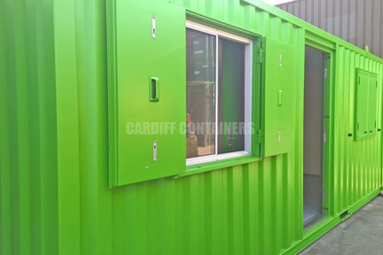 Cardiff Office Containers
